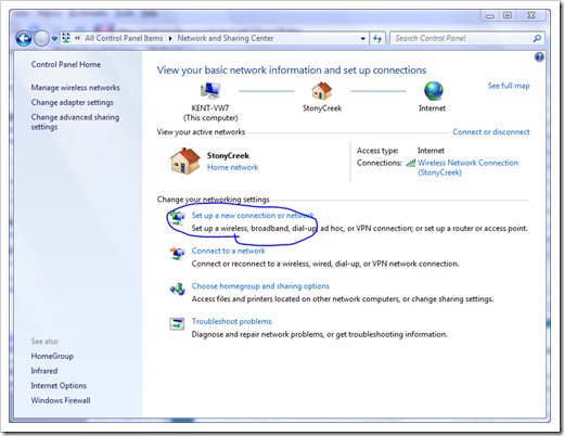 VPN Setup On Windows 7